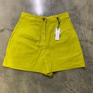NWT Lovers & Friends Lime Shorts